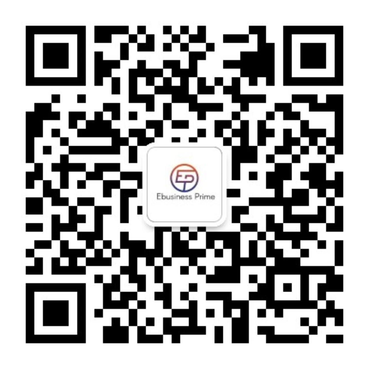 Excited to launch Ebusiness Prime WeChat official account