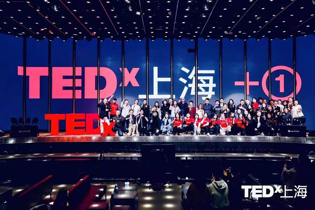Proudly supporting TEDx Shanghai Event
