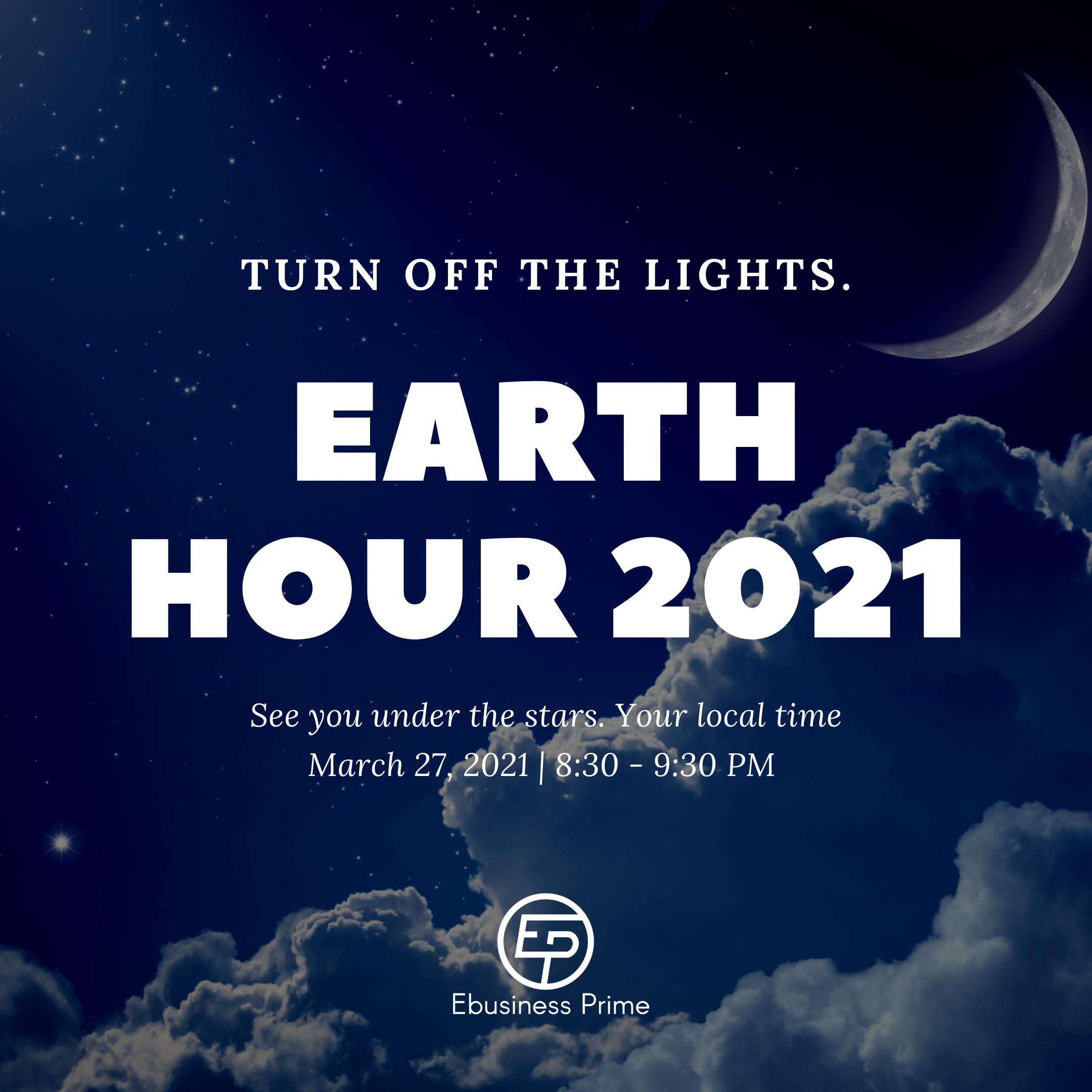 Earth hour 2021