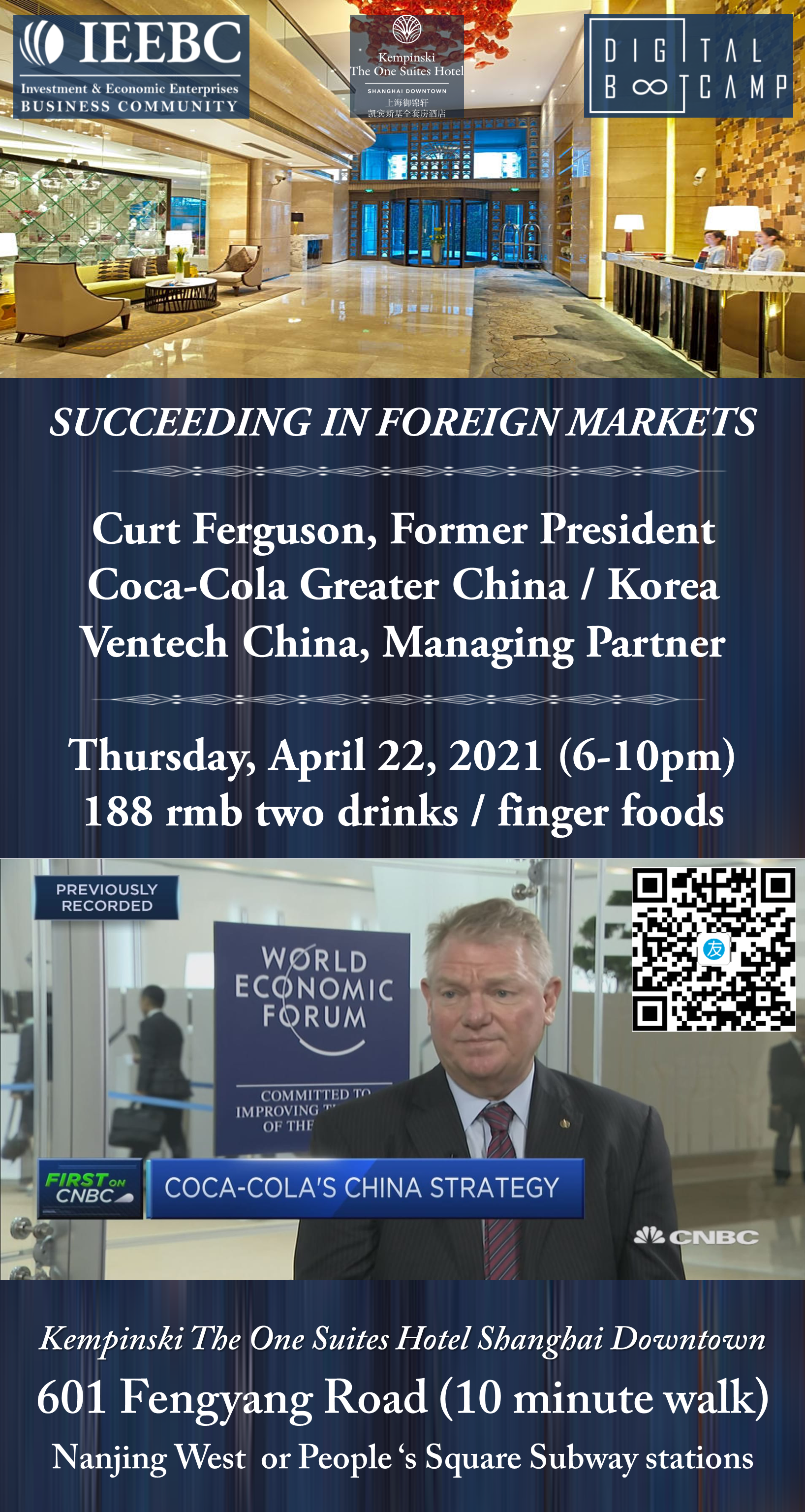 April 22nd Succeeding in foreign markets